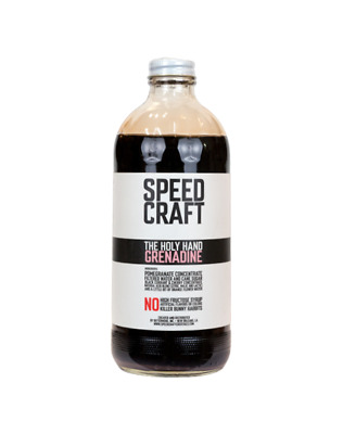 "Speed Craft ""The Holy Hand"" Grenadine Syrup 480ml"