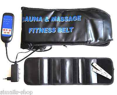 Trion Magic Belt Massage & Sauna Gürtel Bauchmuskeltrainer Massagegurt Trainer