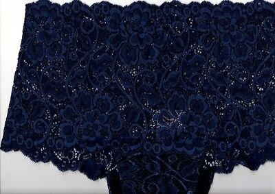 Coulotte Tramonte Art.s725  In Pizzo Tg 4 Col Blu Made In Italy