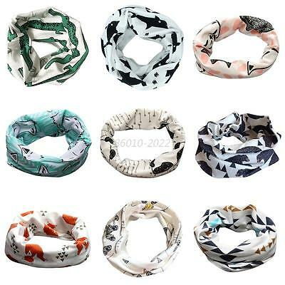 16 Colors Baby Boy Girls Soft Scarf Infants Warm Pattern Collar Neck Scarf Wrap