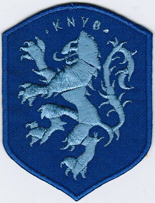 Netherlands AWAY 2016 National Football Team Soccer Iron On Embroidered Patch
