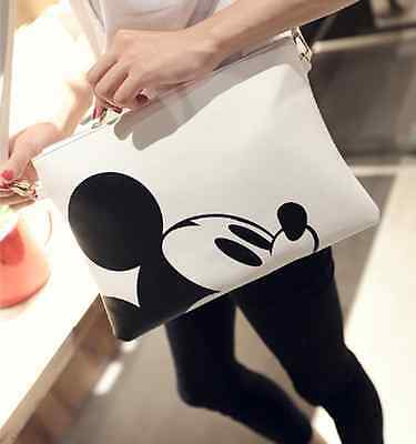 Women Fashion Handbags Mickey Mouse Handbag Shoulder Bag