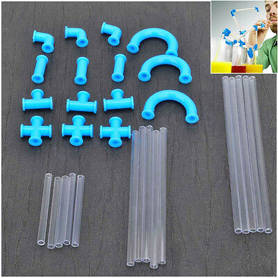 creative DIY crazy straw multifunction and lover's equipment