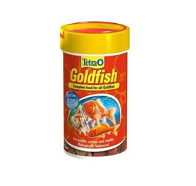 Tetra Goldfish Complete Fish Food Flake for Coldwater Fish 20g