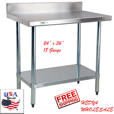 X X Tall Stainless Steel Prep Table With - Tall stainless steel table