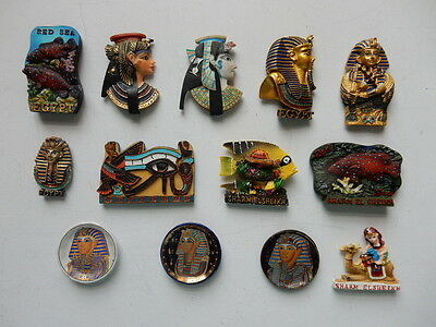 One Selected 3D or Round China Souvenir Fridge Magnet from Egypt