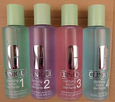 CLINIQUE CLARIFYING LOTION 400 ML FOR ALL SKIN TYPES, New