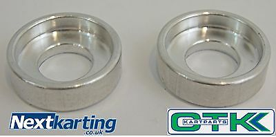 TonyKart / OTK Genuine Stub Axle 25mm End Retaining Washer X2 HST - Nextkarting