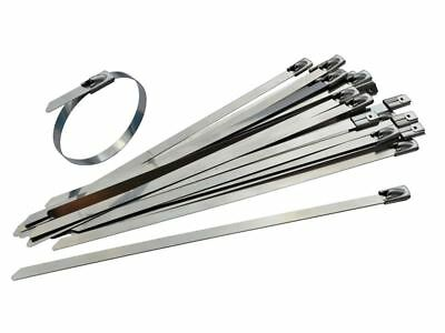 Faithfull - Stainless Steel Cable Ties 4.6 x 150mm (Pack of 50)