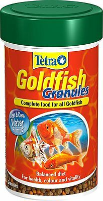 Tetra Goldfish Floating Granules Complete Fish Food for Coldwater Fish 32g