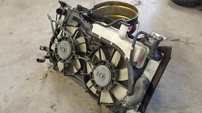 2004-2009 Toyota Prius Radiator assembly with cooling fans tank ac condenser set