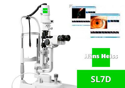 Slit Lamp HANS HEISS SL7DL Led (X5) Magnifications with Warranty