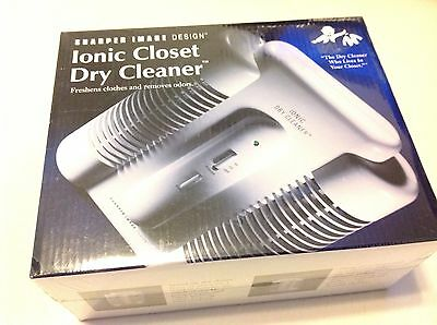 Sharper Image Ionic Closet Dry Cleaner Clothes Deodorizer SI630 New