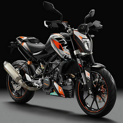 Ktm Kit Grafiche Stickers Factory Duke 125 200  11-16 90608999200