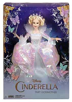 Doll Disney Cinderella Fairy Godmother 12 Inch Tall Character Collectible Toys