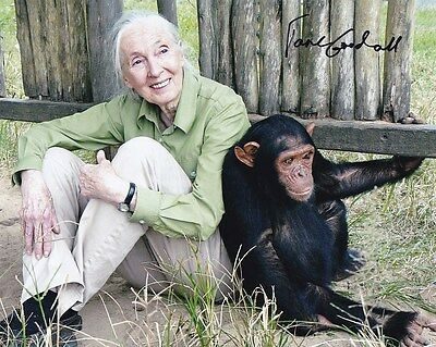 JANE GOODALL Signed Autographed Photo