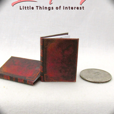 ARTIST SKETCH BOOK Miniature Book Dollhouse 1:12 Scale Illustrated Book