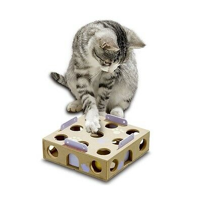 Karlie Smart Cat Activity Box mit Rasselball