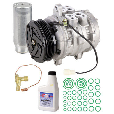 Brand New Ac Compressor & Clutch With Complete A/c Repair Kit For Suzuki Swift