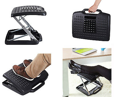 Carepeutic Ergo-Comfort Pressure Balance Footrest Ergonomic Home Office Desk