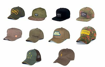 Navitas Apparel NEW Carp Fishing Cap ALL TYPES Snapback Cap Original MFG Trucker