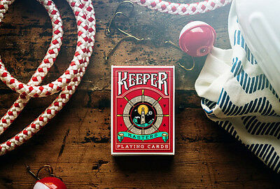 Red Keeper Playing Cards Deck Brand New