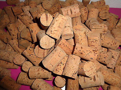 Natural Cork Stopper Tapered  Bottling Home Brew Wine  Corking Portugal 33x22x19