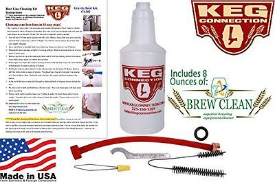 Kegconnection - Beer line Cleaning Kit. Brewing Supplies/Cleaners