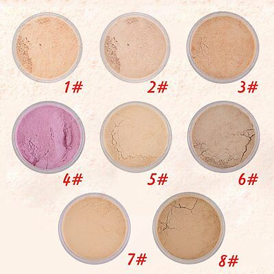 New Makeup Loose Face Powder Setting Mineral Perfecting Finishing Foundation I5#
