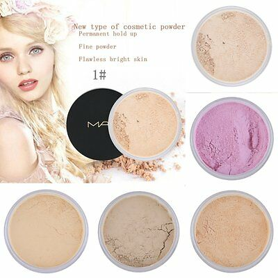 New Makeup Loose Face Powder Setting Mineral Perfecting Finishing Foundation E5