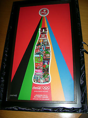 Ausverkauft Coca Cola London Pin Of The Day Set Im Rahmen Limited Edition
