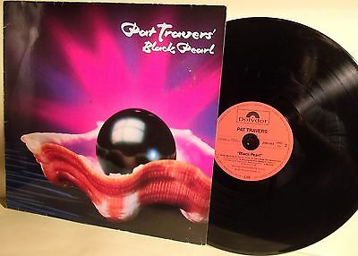 Lp-Pat Travers'-Black Pearl-Germania 1982-N.mint