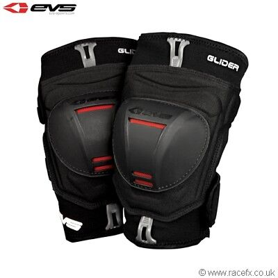 New EVS Adult Glider Knee Guards Pads Motocross Enduro S M L