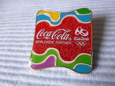 1 Coca Cola Olympia !!! Rio 2016 !!! Pin Limited Edtion
