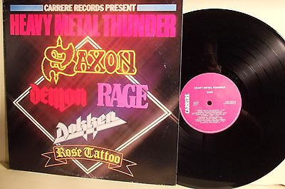 LP- Heavy Metal Thunder-CARRERE ITALIA 1982-N.MINT