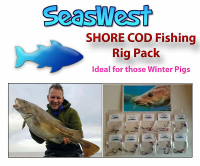 SHORE COD Fishing Rig Pack