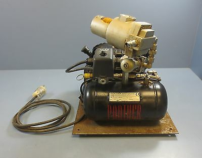 Werther Panther Silent Laboratory Air Compressor 50TC AL 116 PSI 0.9 Gal