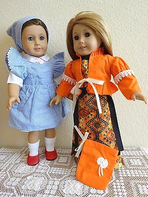 """NEW-DOLL CLOTHES -2 Doll Costume Sets fit 18"""" Doll such as AG Dolls-Lot #265"""