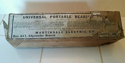Vintage Martindale Electric Co. Universal Portable Bearing Tool