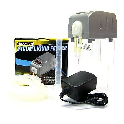 Micom Liquid Feeder Feeding Dosing Pump for Aquarium Plants Reef Coral Fish Tank