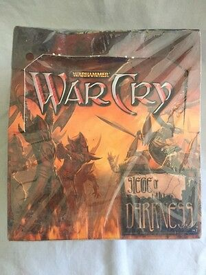 Warhammer WarCry Siege of Darkness Booster Box (packs included) | Factory Sealed