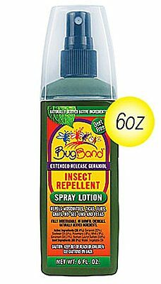 BugBand: Natural Insect Repellant Spray Lotion Deet Free Child Safe, 6 oz
