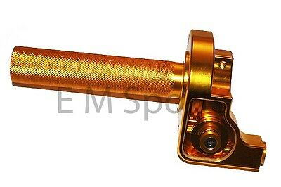 110cc 125cc Dirt Pit Bike CNC Twist Throttle Control GOLD YAMAHA TTR110 TTR125