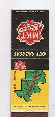 MATCHBOOK COVER Katy Railroad