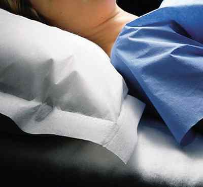 MEDLINE NON24345 Disposable Tissue/Poly Pillowcases Pack of 100