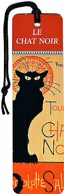 4 Marque Pages Chat Noir Paris Tour Eiffel Mucha Lautrec  Bookmarks Segnalibri