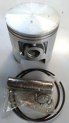 NEW AUTISA YAMAHA RD125 PISTON +0.5mm OVER SIZE CIRCLIPS, RINGS AND PIN