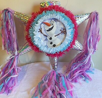 Olaf Pinata Multicolor Star Shape Handcrafted