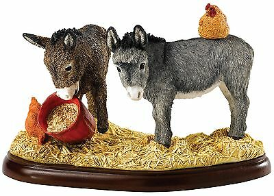 Border Fine Arts Ancienne Pals James Herriot Âne Ornement Figurine 11cm A27557