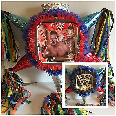 Wrestling PInata WWE Two-Sided